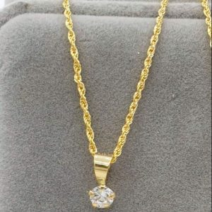 women necklace 9 carat